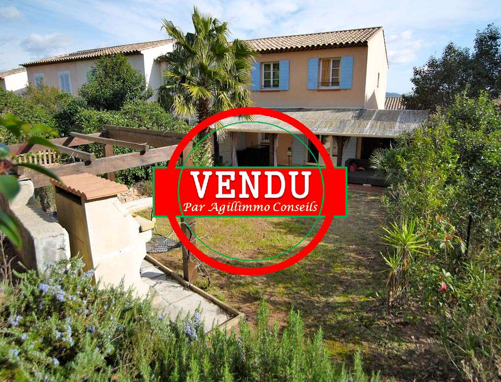 House at 86m2 to Coeur at to the Bouverie - ROQUEBRUNE SUR ARGENS