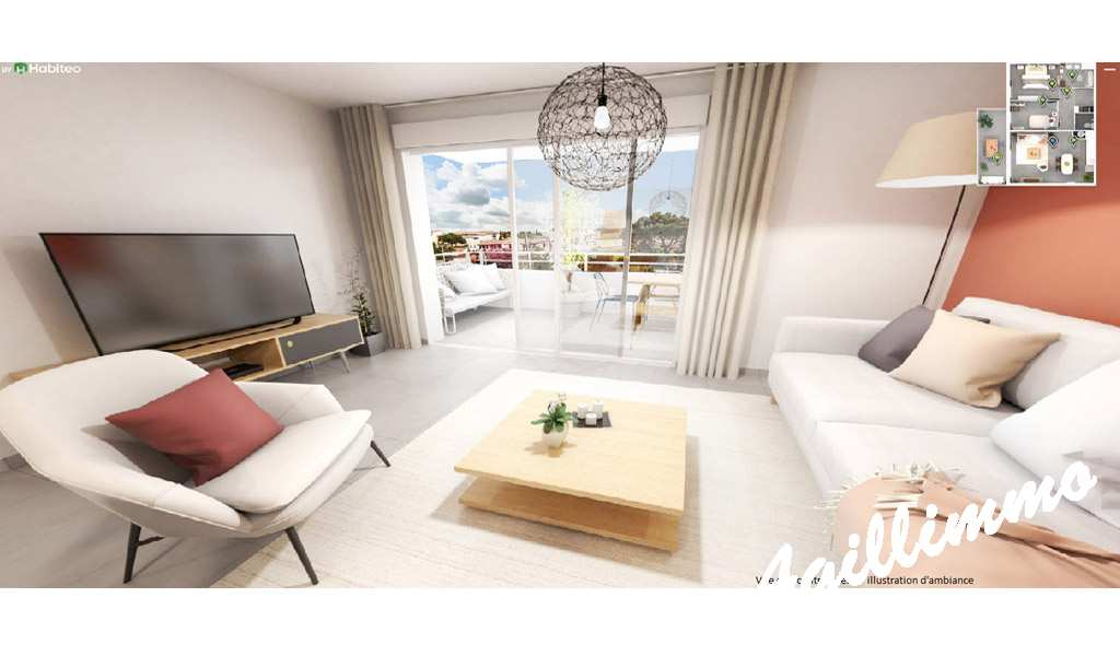Apartments news to heart of center ville - French Riviera