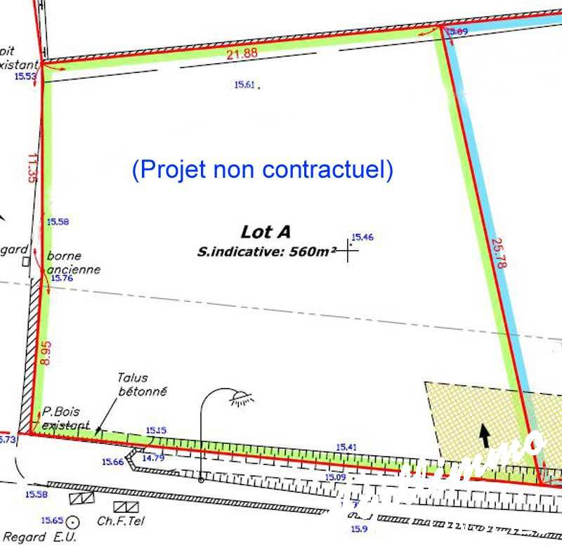 Land of to build at 560 M2  - PUGET SUR ARGENS