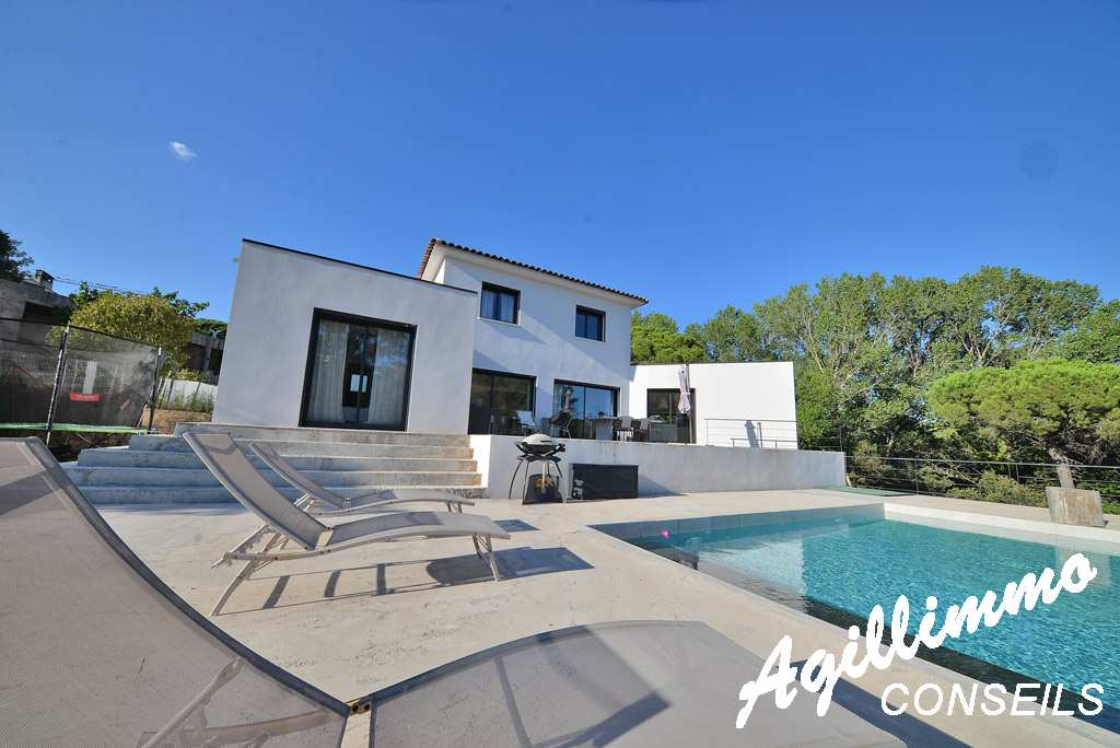 Superbe house modern at 150m2 with swimming pool  - French Riviera