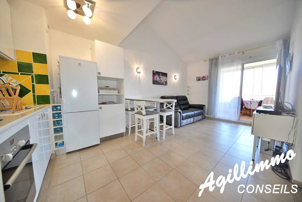 3 rooms in triplex proximity Base Nature - French Riviera