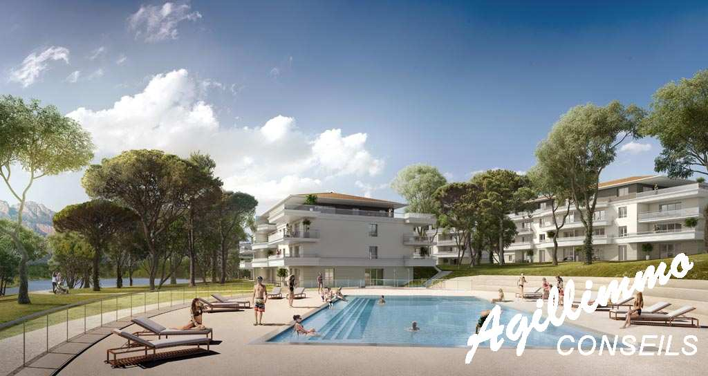 Apartment new in residence at standing with swimming pool  - PUGET SUR ARGENS
