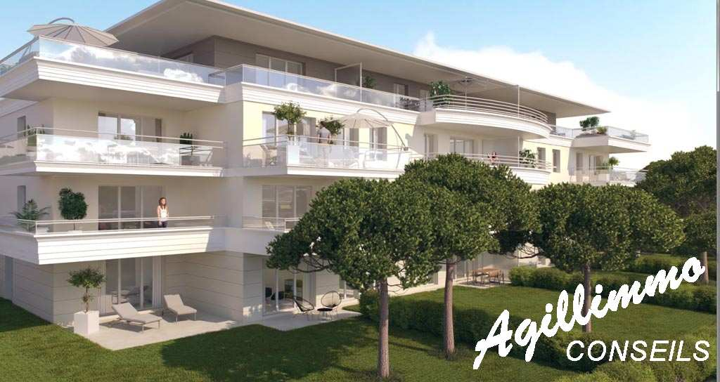 Apartment new in residence at standing with swimming pool  - 83480  South of France